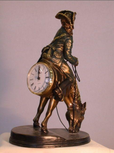 каминные часы недорого